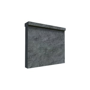 seamless destructive wall 3D model