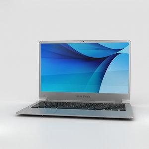 samsung notebook 9 3D model