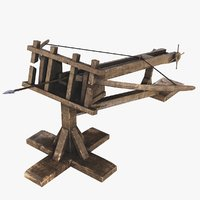 Ballista Low Poly