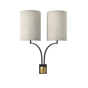 3D model luce bloom wall lamp