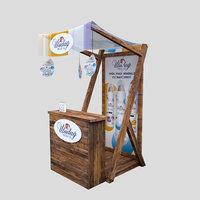 3D uludag spray stand model