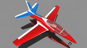 3D model viper jet