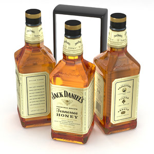 whiskey tennessee alcohol 3D model