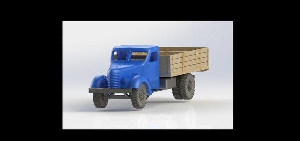 3D truck romania