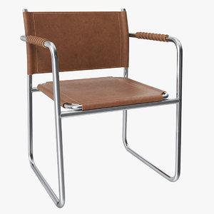 3D amiral armchair karin mobring