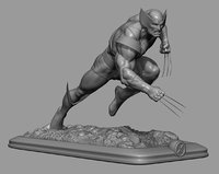 wolverine claws 3D