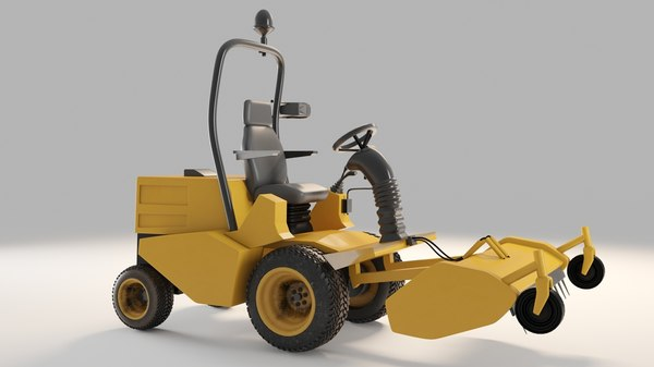 backhoe loader 3D