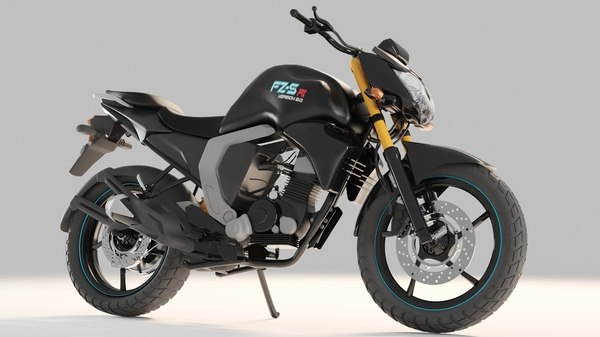 3D model yamaha motorcycle
