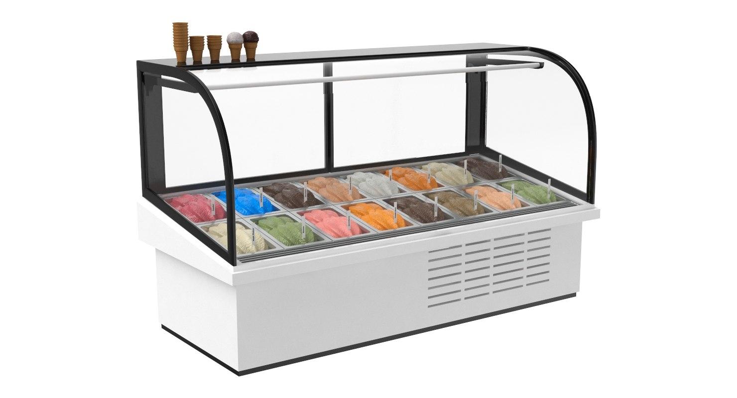 ice cream 3D model