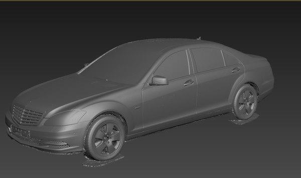 scan mercedes s-class w221 model