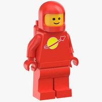Lego Man Astronaut 02