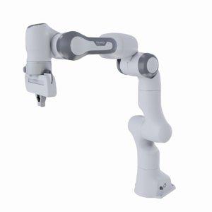 3D model franka emika panda robot