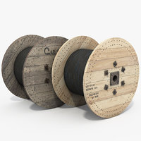 Cable reel wood
