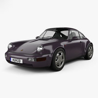 Porsche 911 Carrera 4 Coupe (964) Turbolook 30th anniversary 1993