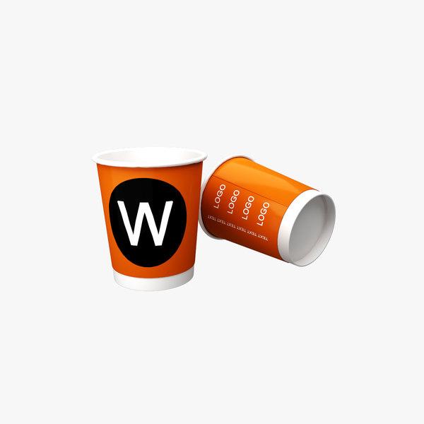 paper cup 3D