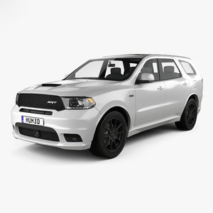 3D dodge durango srt model