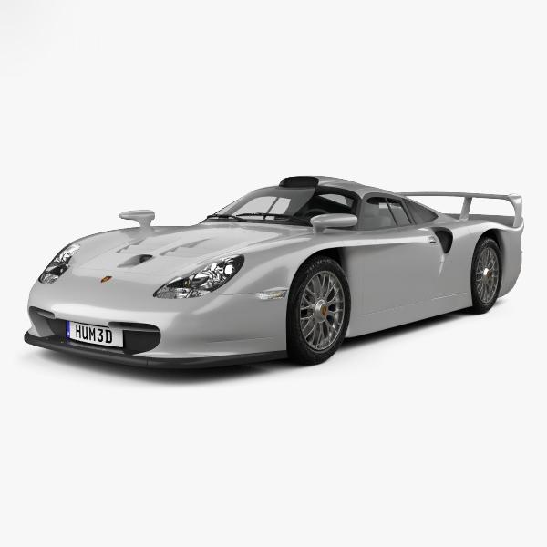 porsche 911 stradale 3D model