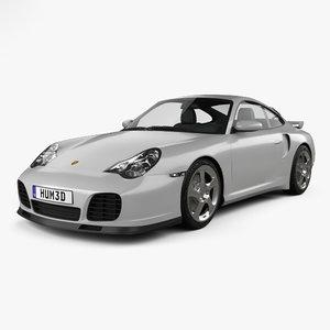 3D model porsche 911 turbo
