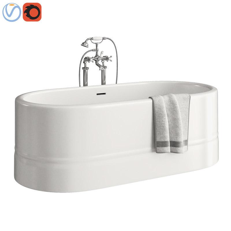 bathroom devon diva 3D model