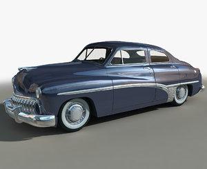 3D model generic retro 03 cars