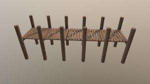 3D pier vr ar model