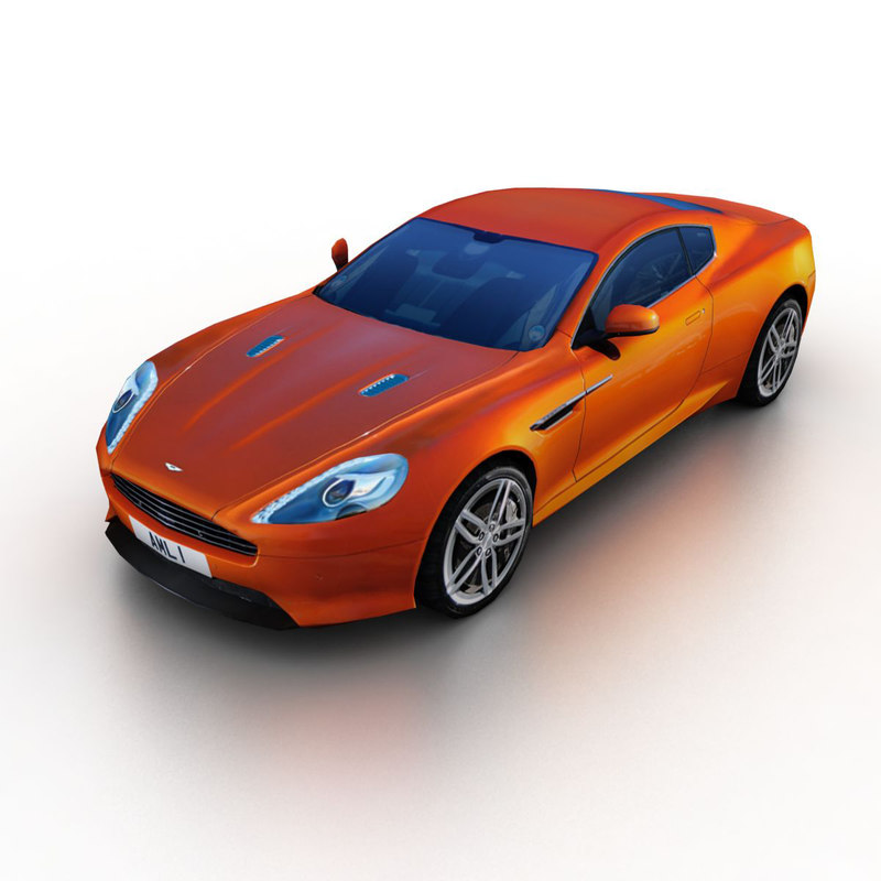 Aston Martin Virage Old