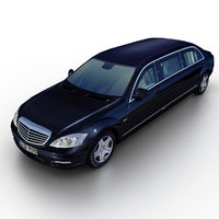 Mercedes-Benz S600 Guard Pullman 2010