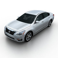 3d 2013 nissan altima sedan model