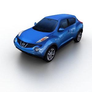 3d model 2011 nissan juke