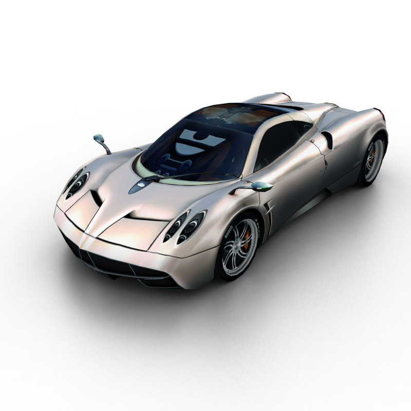 3d model 2012 pagani huayra