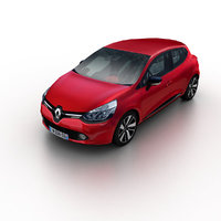 3d model 2013 renault clio hatchback