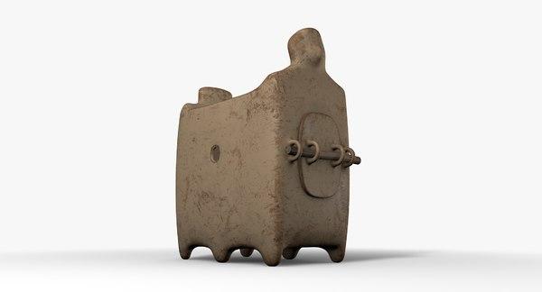 3D stove ceramic