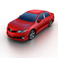 2012 toyota camry 3ds
