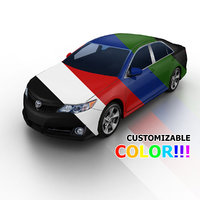 2012 toyota camry color 3d model