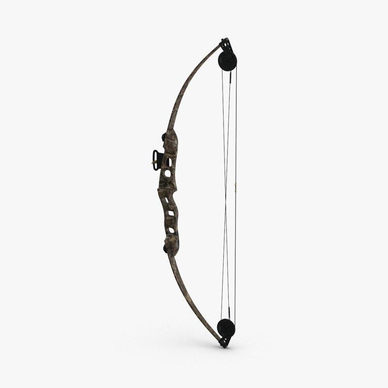 compound-bow-02 3D model
