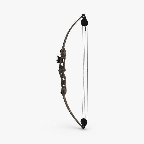 compound-bow-02 3D model