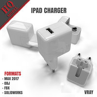 ipad charger 3D