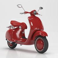 high-poly vespa 946 3D model