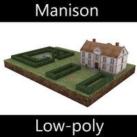 manison - diorama 3D model