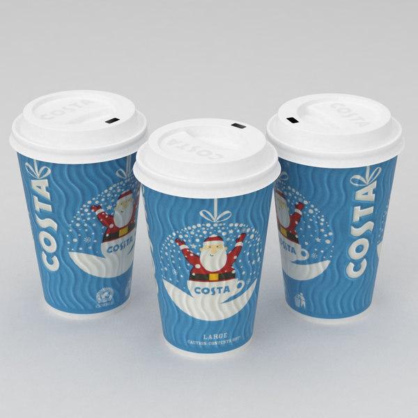 3D coffe cup model