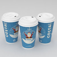 Costa Christmas Coffe Cup Large