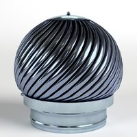 rotating chimney cap 3D