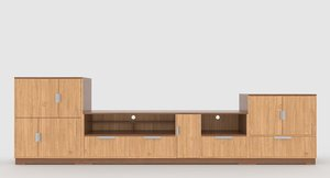 3D tv stand 73