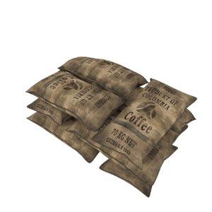 bag coffee model
