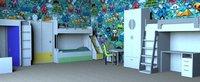 furniture children room model