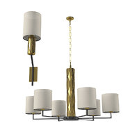 chandelier wall lamp officina 3D model