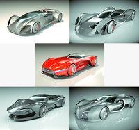 cool original 3D model