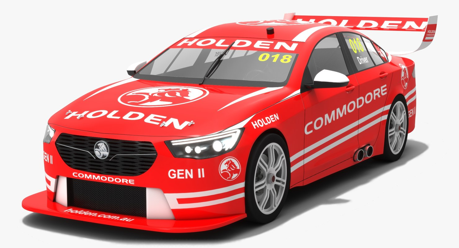 3D generic holden zb commodore