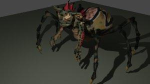 gremlin spider 3D