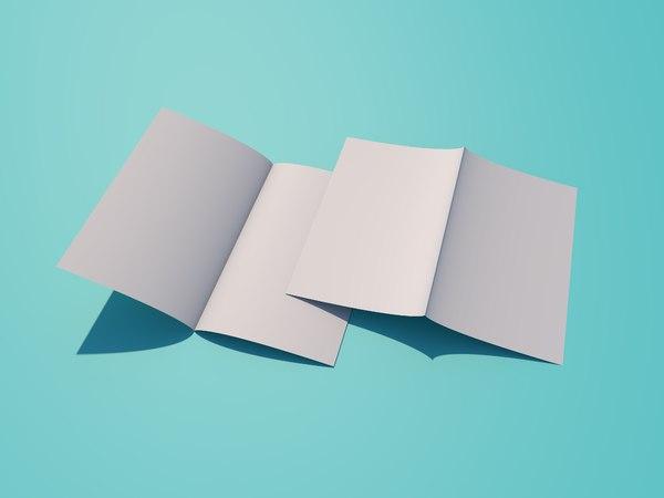 3D bi-folder